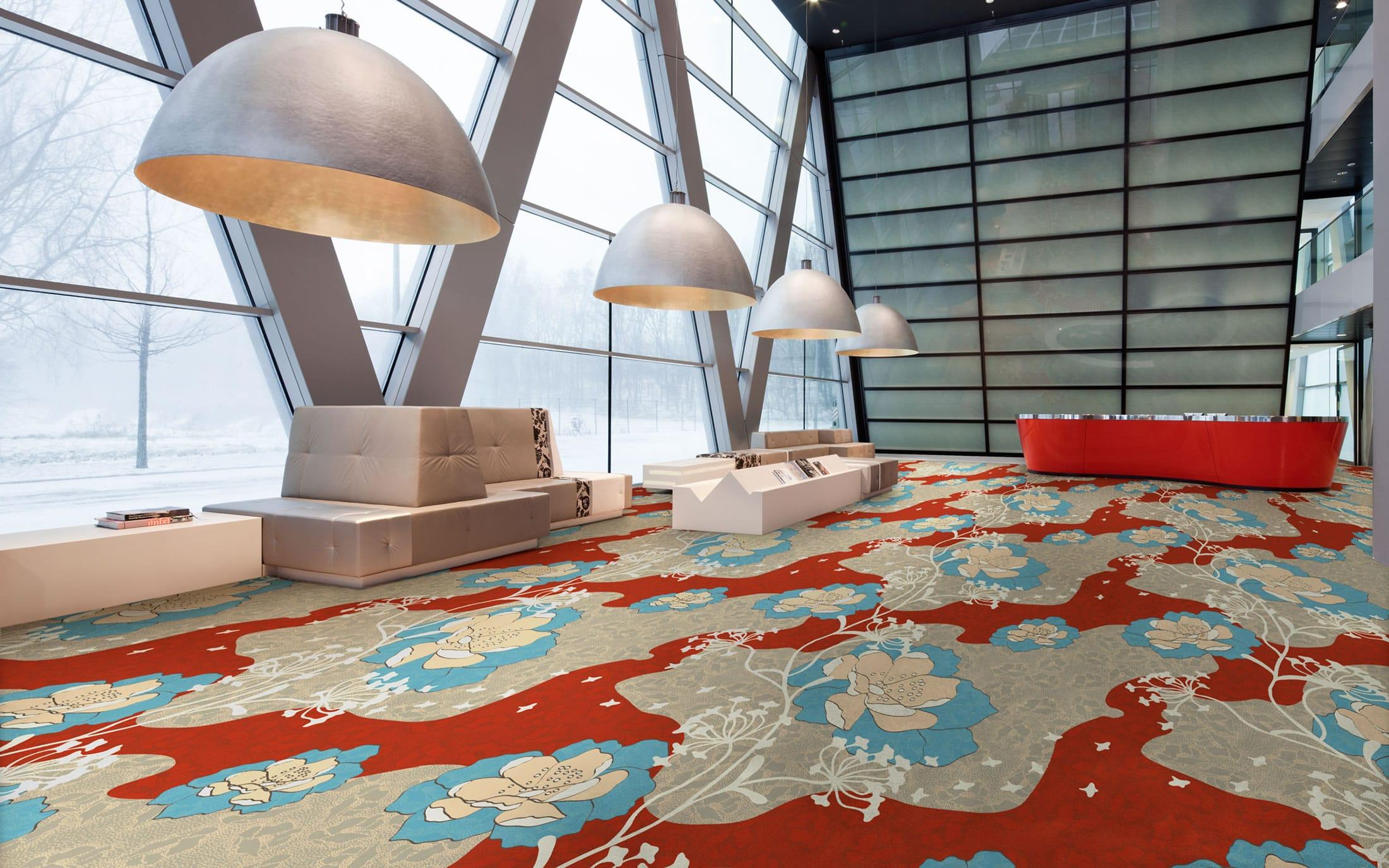 Vloerbedekking Met Motief : Tapijt collectie floorfashion by muurbloem design haori muurbloem.com