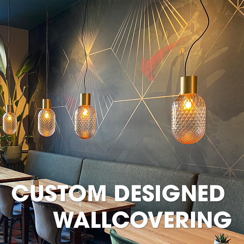 Custom wallcovering
